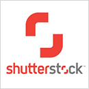 red and gray Shutterstock.com logo